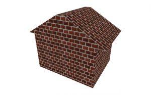 レンガの家